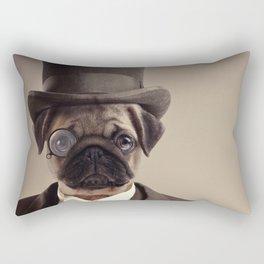 (Very) Distinguished Dog Rectangular Pillow