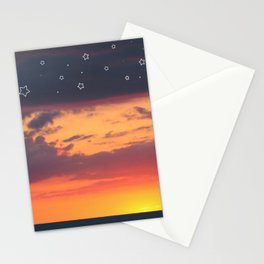 Florida Sunset - Stars Stationery Cards