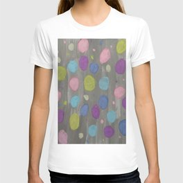 Pastel Bubbles Abstract T-shirt