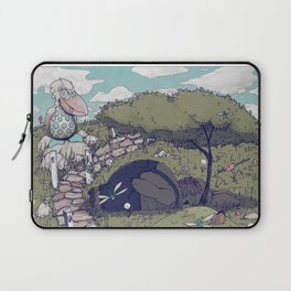 Spirited among the Dragonflies Laptop Sleeve