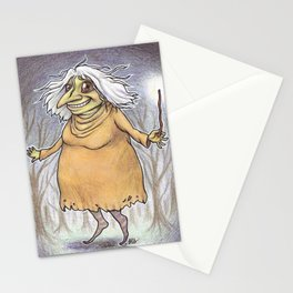 Witch of Spiders Stationery Cards