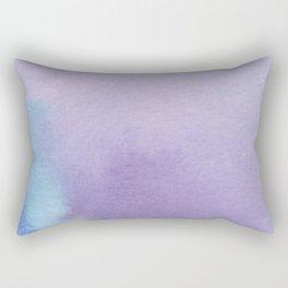 Blue and Purple Rectangular Pillow