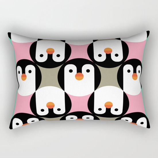 PenguinGame Rectangular Pillow