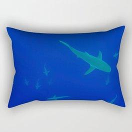 Shark School Rectangular Pillow