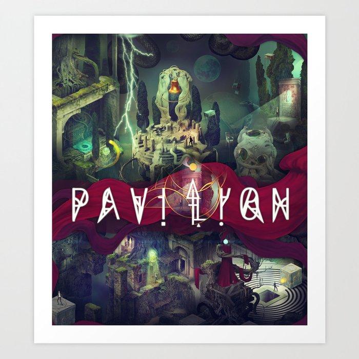 Pavilion Poster Art Print