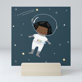 Astro Girl Mini Art Print
