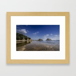 Michoacan Beach Framed Art Print