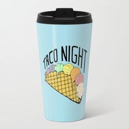 Ice Cream Taco Night Travel Mug