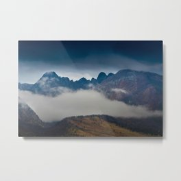 Absaroka Fog Metal Print