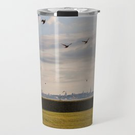HyperReality Shift. Starling Flyover. Travel Mug