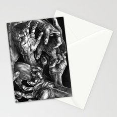 Getting Handsy (smothering, groping, hands) Stationery Cards