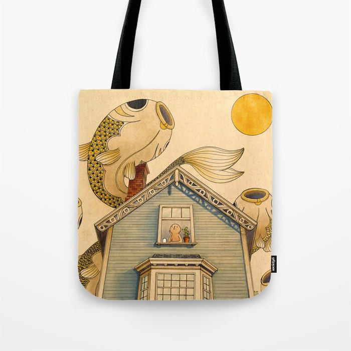 Fish Migration Tote Bag