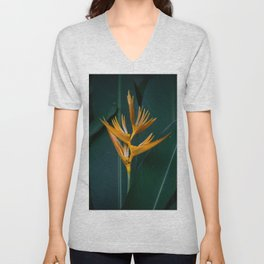 Orchids yellow Unisex V-Neck