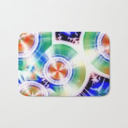 Happy Vitamin C Crystals in Sunlight Bath Mat