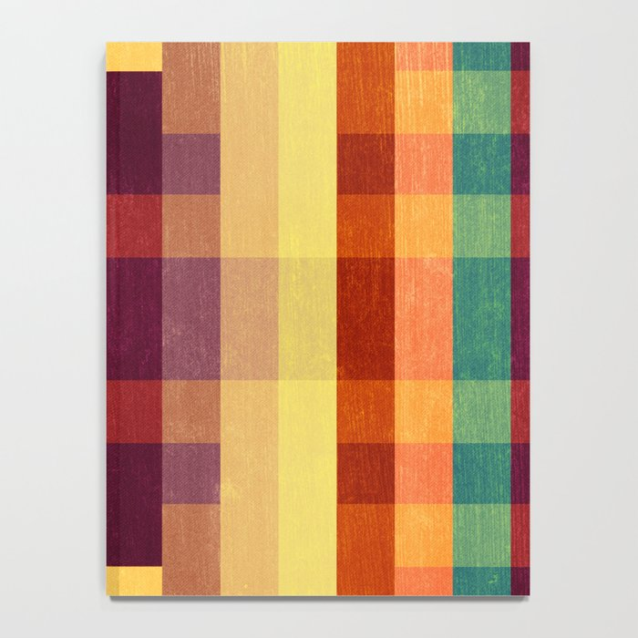 Autumn Winds Abstract Notebook