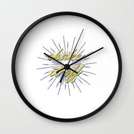 ShakeItOff-TS Wall Clock