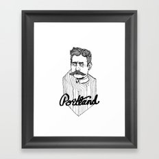 Ode to Portland II  Framed Art Print