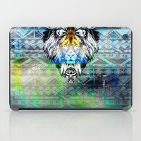 the lion king iPad Cases featuring KING LION by sametsevincer
