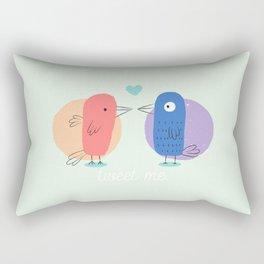 Tweet Me. Rectangular Pillow