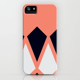 Black Diamond iPhone Case
