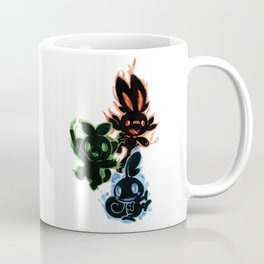 Galar Starters Black Coffee Mug