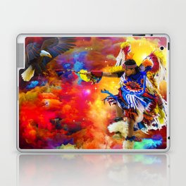 Dance with eagle Laptop & iPad Skin