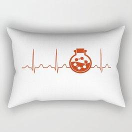 Biochemist Heartbeat Rectangular Pillow