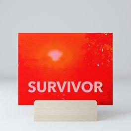 Survivor Mini Art Print