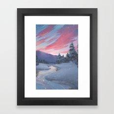 Missing Winter Framed Art Print