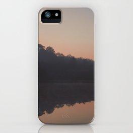 deep hayes sunrise reflection iPhone Case