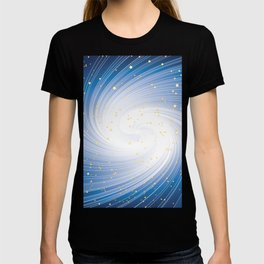 Stars, Light and Motion in space T-shirt