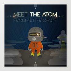 Meet The Atom Canvas Print