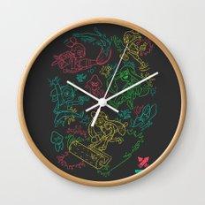 Squid Wars Wall Clock
