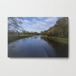 The Netherlands Countryside Metal Print