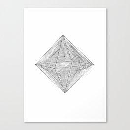 DMT OCTAHEDRON Canvas Print