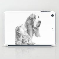 the hound iPad Cases featuring Basset hound by Doggyshop
