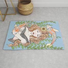 Lady of the Lake Rug