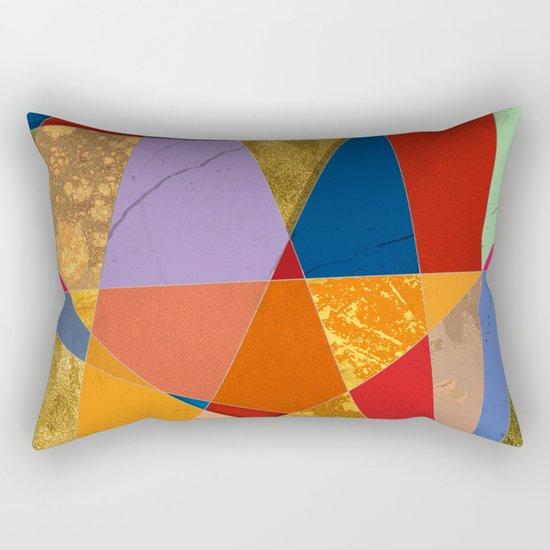 Abstract #337 Rectangular Pillow