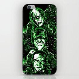 House of Monsters Phantom Frankenstein Dracula classic horror iPhone Skin