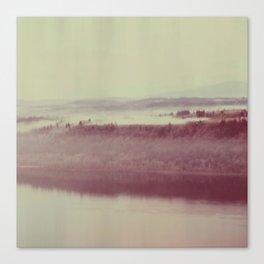 Oregon Polaroid Canvas Print