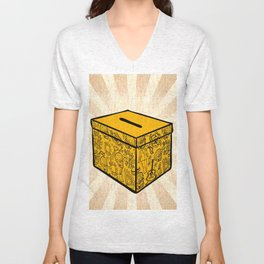 Ballot Box Unisex V-Neck