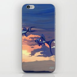 Sky Fishes iPhone Skin