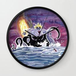 Ursula the Sea Witch Wall Clock