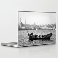 boat Laptop & iPad Skins featuring Boat by kartalpaf