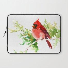 Cardinal Bird, stet birds decor design cardinal bird lover gift Laptop Sleeve