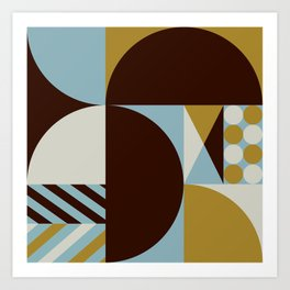 Abstract Composition 528 Art Print