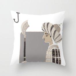 Jack B. Throw Pillow
