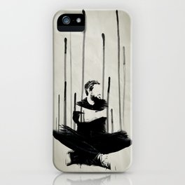 descending iPhone Case