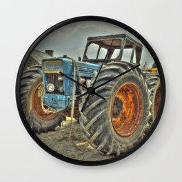 Porth Meudwy Tractor Wall Clock
