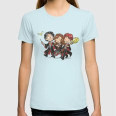 HP Gang SMALL Light Blue Womens Fitted Tee